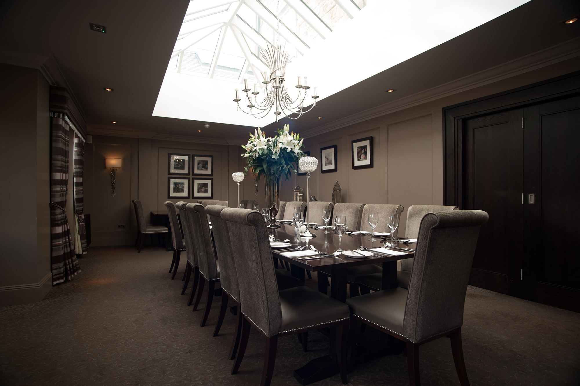 private dining rooms | Private Dining | Dumfries Arms Hotel