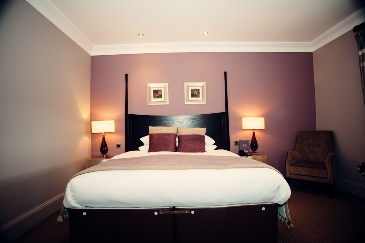 Bedroom at Dumfries Arms Hotel