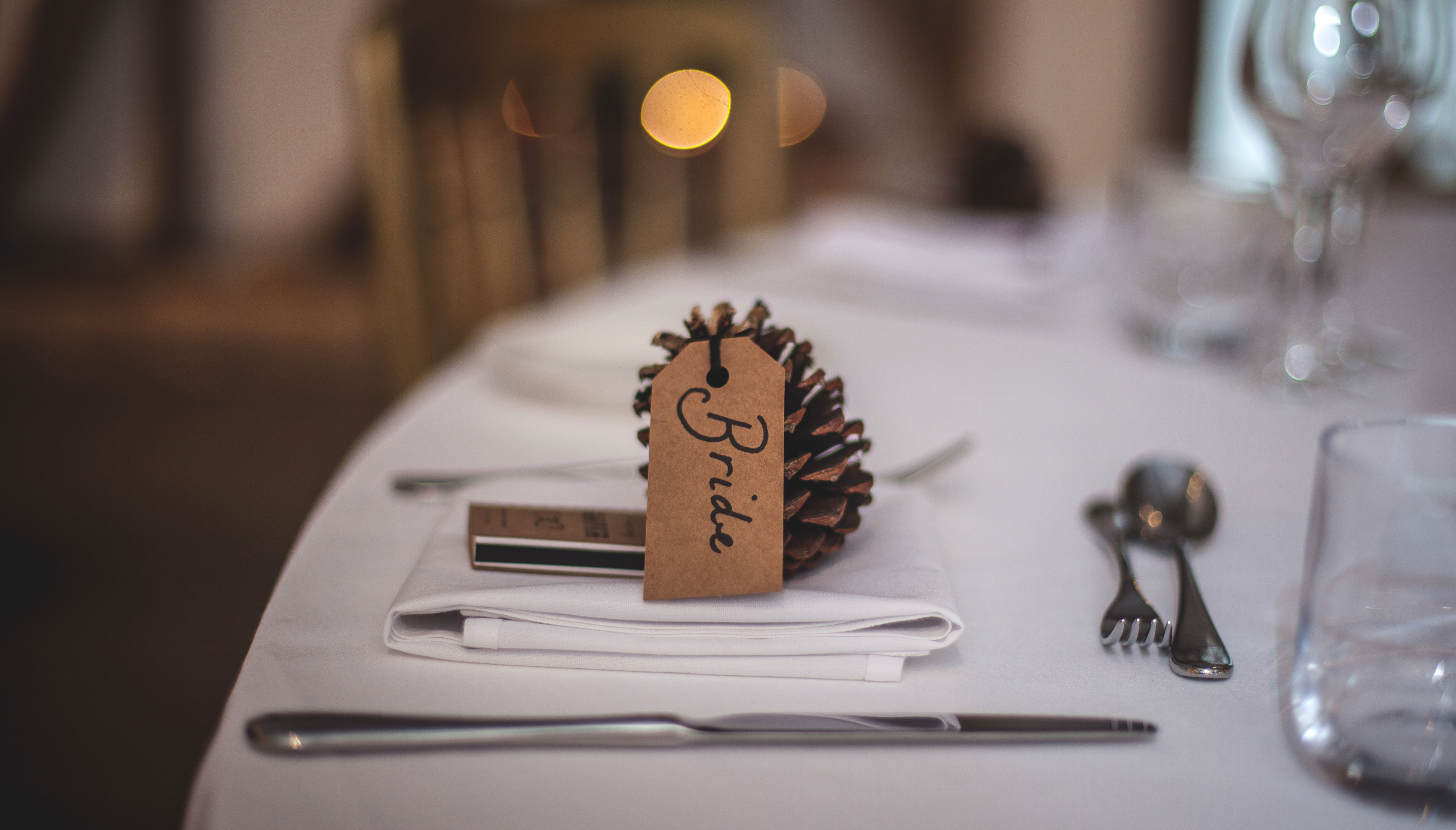 diy wedding favours dumfries arms hotel