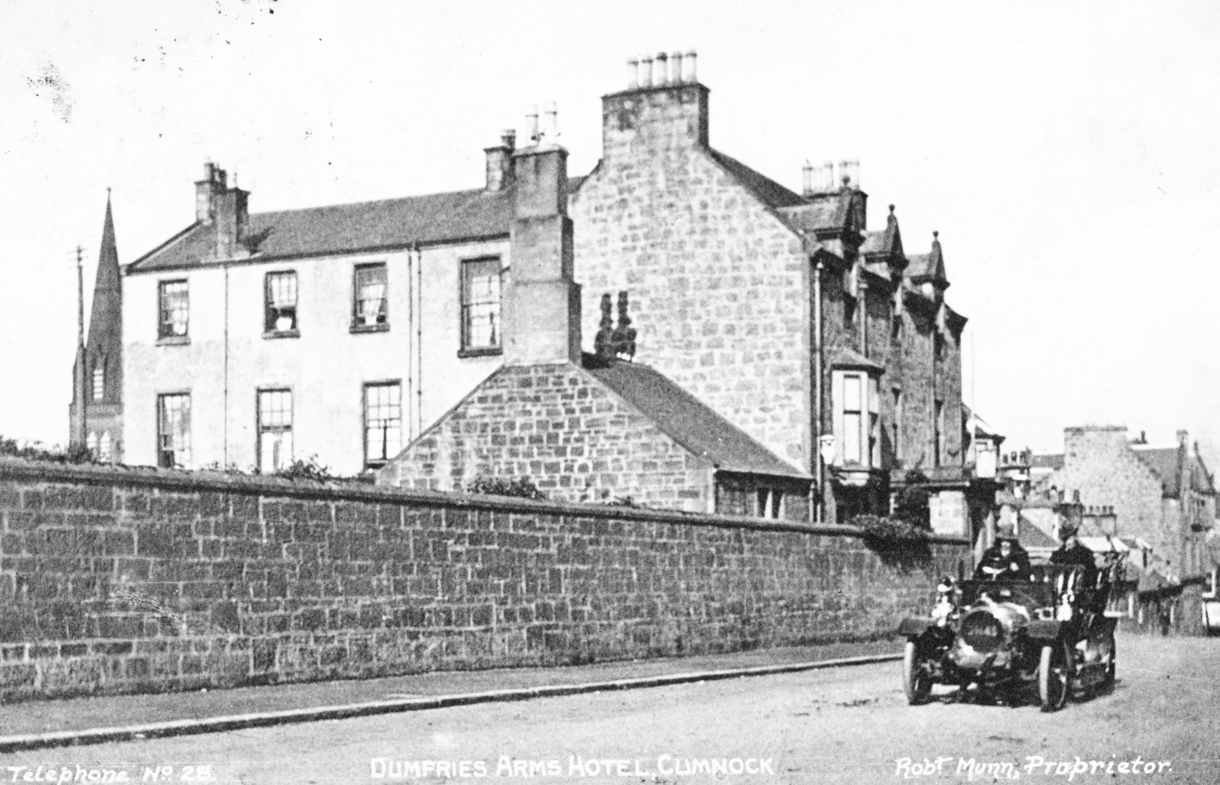 Dumfries Arms With Car