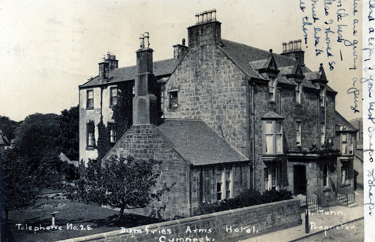 Dumfries -Arms -Hotel -1930-Munn