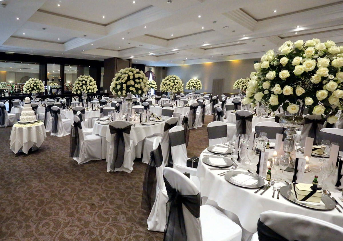 Wedding reception at Dumfries Arms Hotel